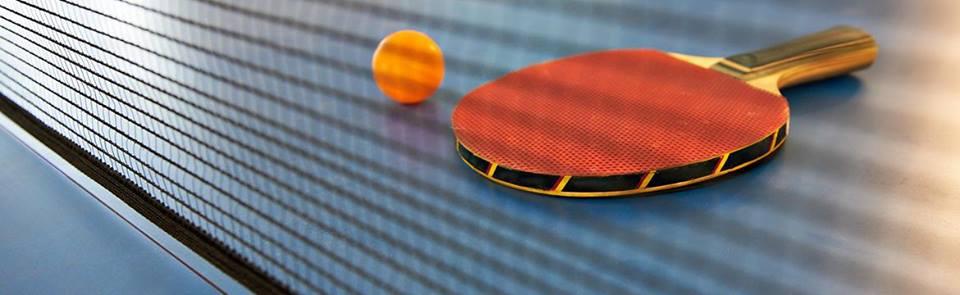 Plakat turnieju XVI Otwarty Turniej tenisa stołowego w kategoriach wiekowych