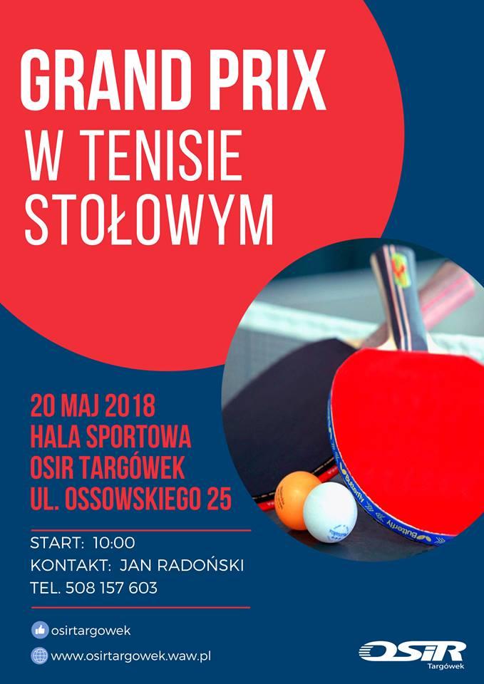 Plakat turnieju GRAND PRIX TARGÓWKA
