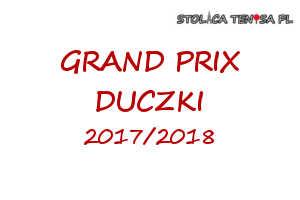 Plakat turnieju GRAND PRIX DUCZEK