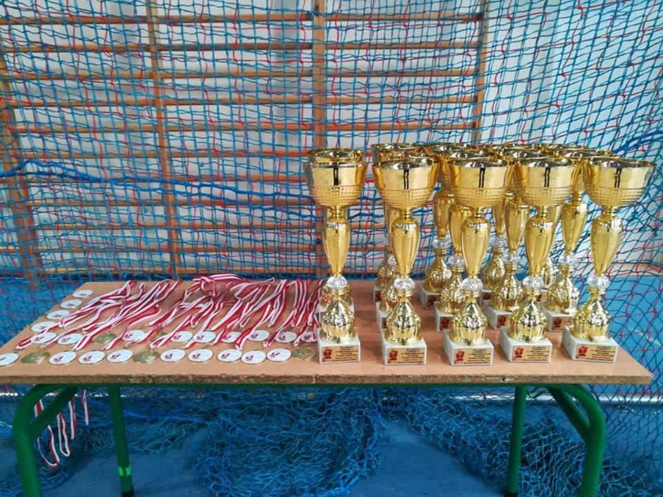 Plakat turnieju O Puchar Wójta Gminy Przyrów - Roberta Nowaka