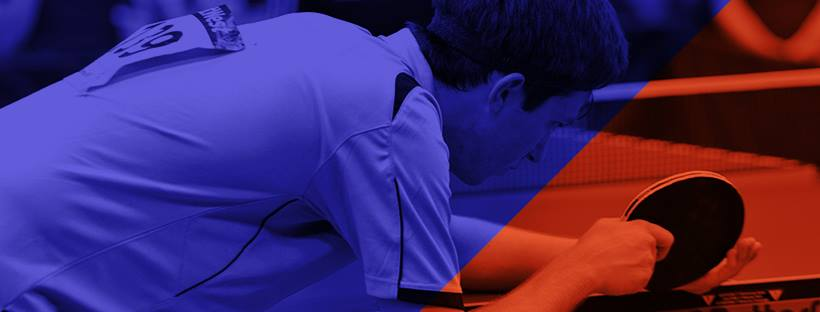 Plakat turnieju I Mistrzostwa firm IT w tenisie stołowym