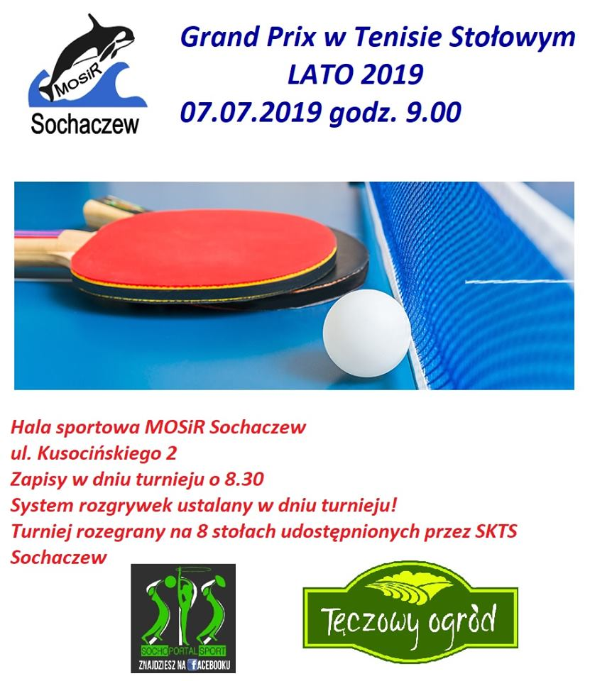 Plakat turnieju GRAND PRIX LATO 2019/ Sochaczew