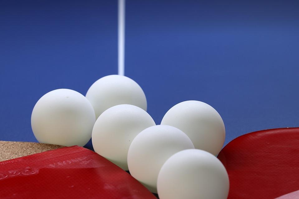 Plakat turnieju IX Wakacyjny Turniej Tenisa Stołowego w Jeleśni