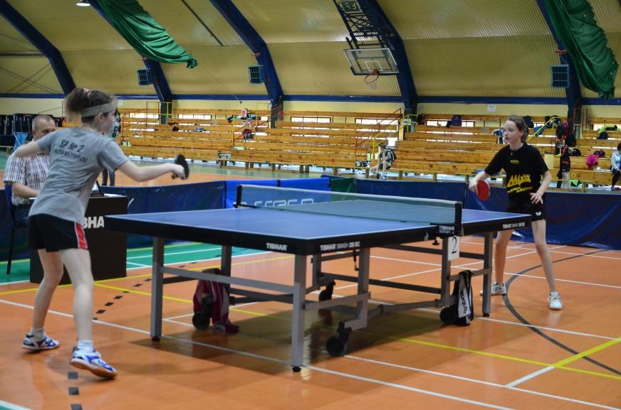 Plakat turnieju Mistrzostwa Rawy w tenisie stołowym