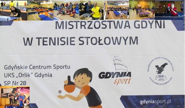 Plakat turnieju Otwarte Mistrzostwa Gdyni - VII turniej