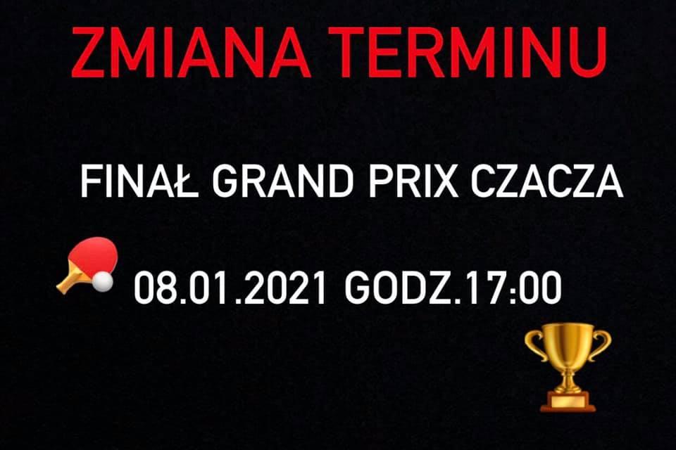 Plakat turnieju Jesienne Grand Prix Czacza- FINAŁ