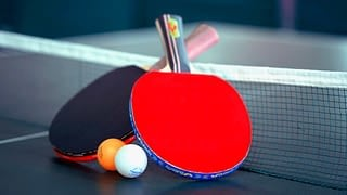 Plakat turnieju Turniej tenisa stołowego -Błońskie Stowarzyszenie Abstynenckich Rodzin EDEN